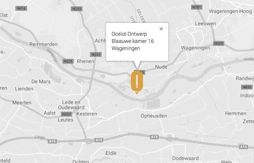 Google maps adres