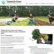 Tuinderij De Stroom website