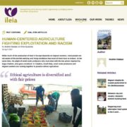 website ILEIA volgpagina