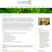 The Songworks website volgpagina