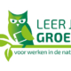 Logo e-learningmodule van het vbne: leer je groen